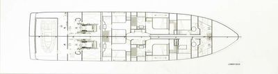 Yacht Charter SEVEN S Layout