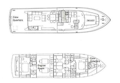 Yacht Charter Golden Eagle Layout