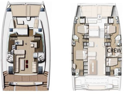 Yacht Charter LOCATION Layout