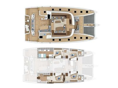 Yacht Charter SMOOTHIE Layout