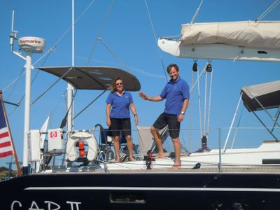 Keith and Dina - Capt and Mate