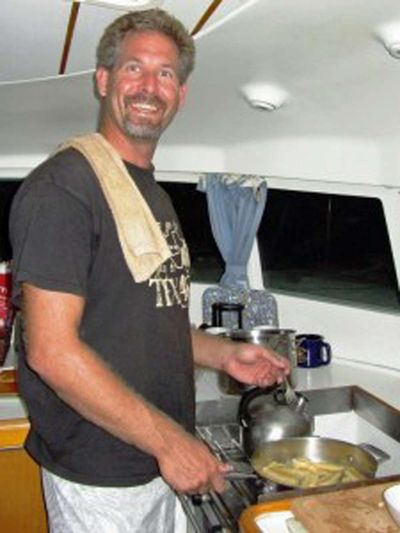 Shane cooking up a storm! -