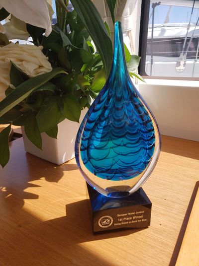 2018 Charter Yacht Show - Winner of the Designer Water Contest.  Full of flavour and healthy  benefits