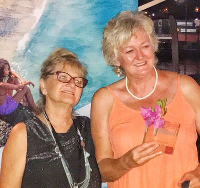 Jen wins 2nd Place Award in Culinary Competition at charter yacht show -