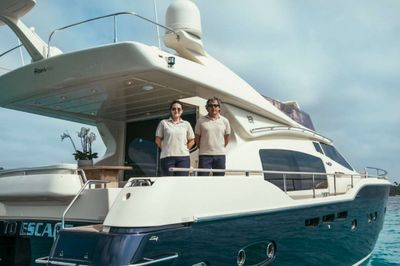 Yacht Charter TO ESCAPE Crew
