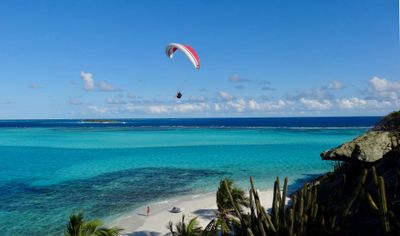 Paragliding in the Grenadines -