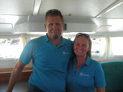 Jake and Stephanie - Captain and Chef/ Mate