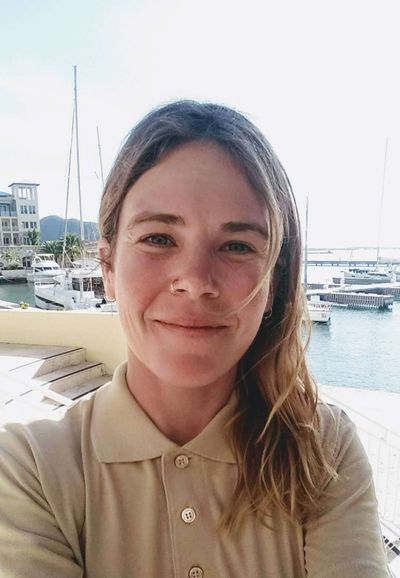 Jehanne Bavay - Chef/First Mate