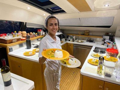 Isabel Sollberg - Chef/First Mate