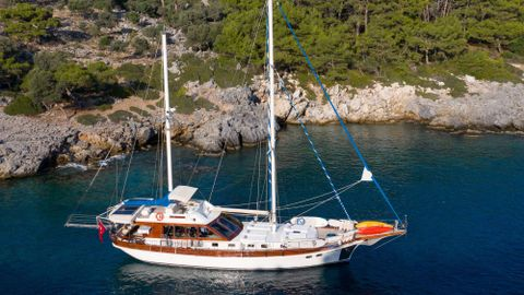 Yacht Charter SERENITY 70 | Ritzy Charters