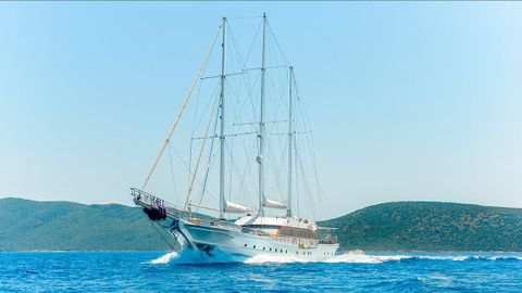 Yacht Charter BELLAMARE | Ritzy Charters