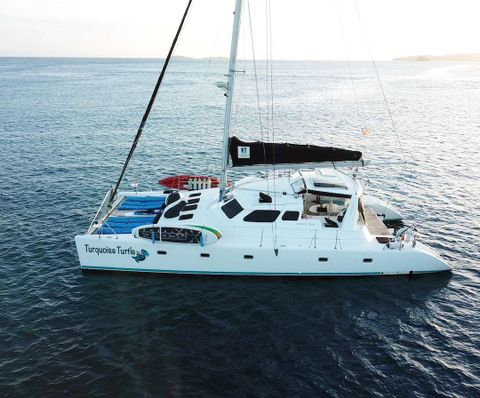 Yacht Charter TURQUOISE TURTLE | Ritzy Charters
