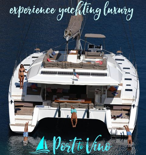 Yacht Charter PORT TO VINO | Ritzy Charters