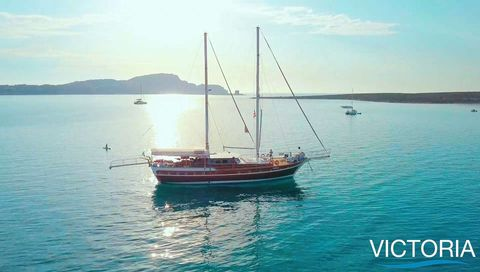 Yacht Charter VICTORIA | Ritzy Charters