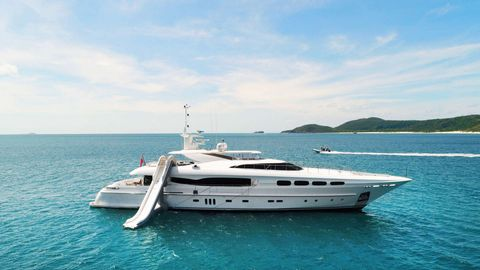 Yacht Charter INFINITY PACIFIC | Ritzy Charters