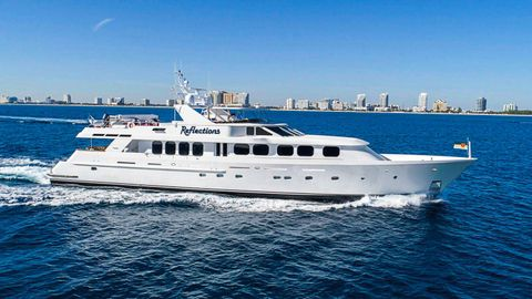 Yacht Charter REFLECTIONS | Ritzy Charters