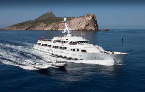 Yacht Charter MIRAGE   Ritzy Charters