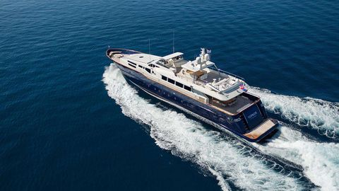 Yacht Charter CONDOR A | Ritzy Charters