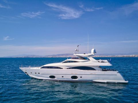 Yacht Charter SEVEN S | Ritzy Charters