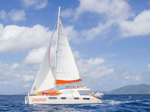 Yacht Charter STARFISH | Ritzy Charters