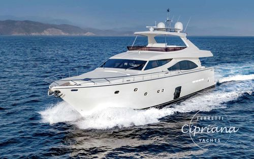 Yacht Charter CIPRIANA | Ritzy Charters