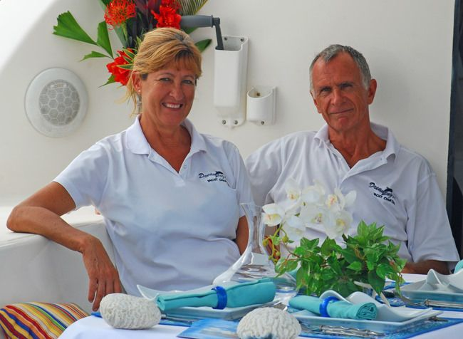 Yacht Charter DREAMING ON Crew