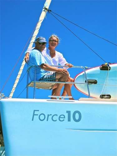 Yacht Charter FORCE 10 Crew