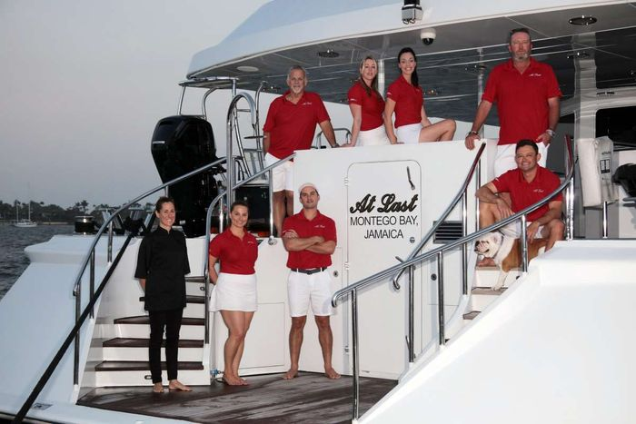 Yacht Charter AT LAST Crew
