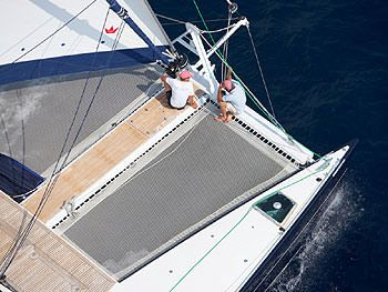 FUERTE 3 Yacht Charter - Large forward trampolines