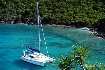 JET STREAM Yacht Charter - At anchor