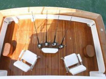 PRIORITY Yacht Charter - Cockpit