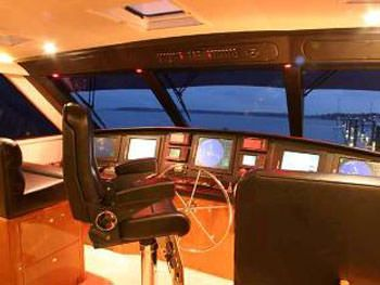 PRIORITY Yacht Charter - Pilothouse