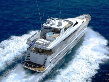 ANNABEL II Yacht Charter - Aerial