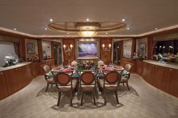 ALICIA Yacht Charter - Dining