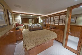 ALICIA Yacht Charter - Port Guest Stateroom