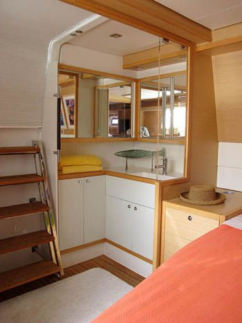 COPPER PENNY Yacht Charter - Master suite area