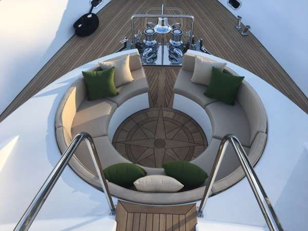 ANTARES Yacht Charter - Bow