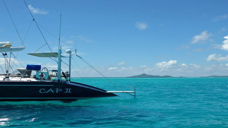 CAP II Yacht Charter - Join us as we sail away to Paradise