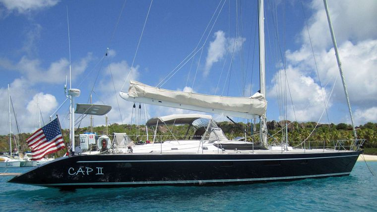 CAP II Yacht Charter - Headturner in every anchorage