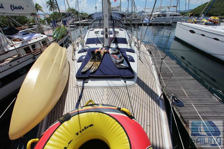 SAYANG Yacht Charter - Water sports gear on the bow