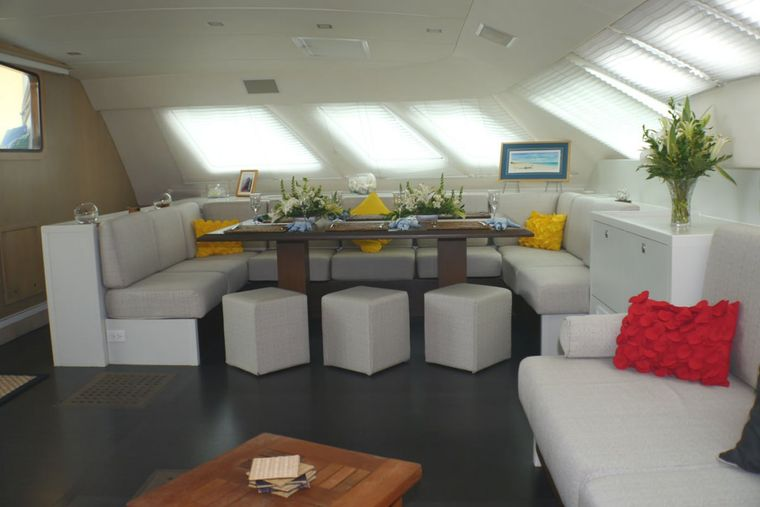 FUERTE 3 Yacht Charter - Cabins have loads of storage