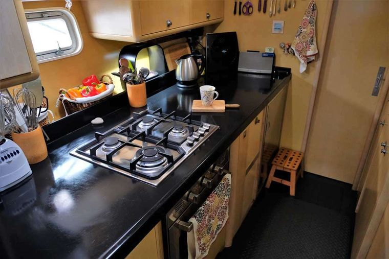 FUERTE 3 Yacht Charter - The galley where the magic happens