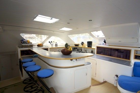 PELICAN Yacht Charter - Galley