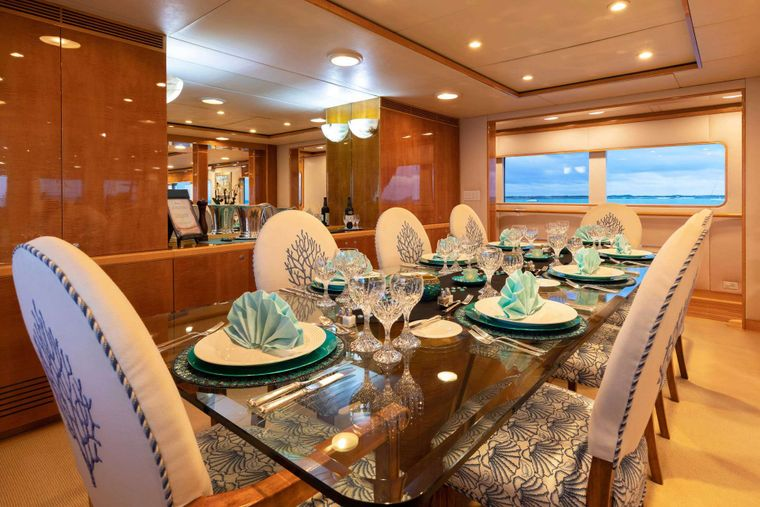 RENA Yacht Charter - Dining