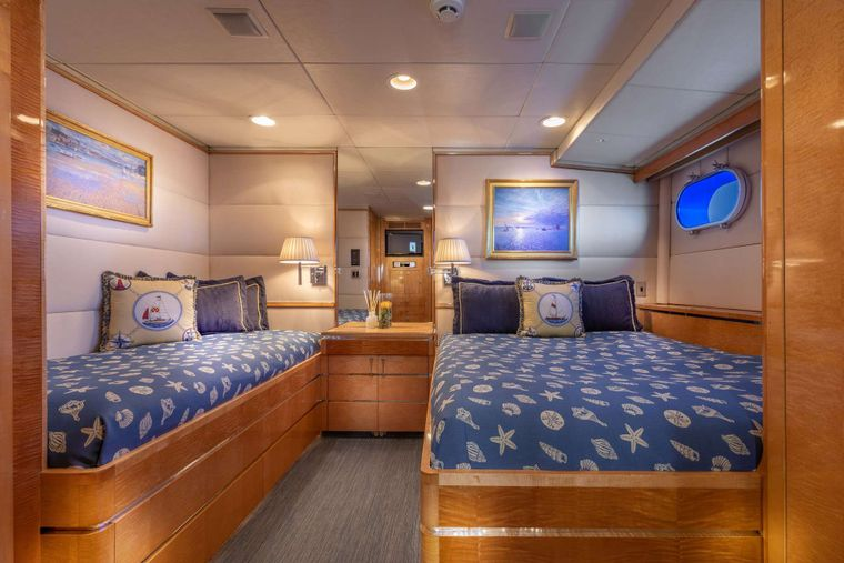 RENA Yacht Charter - Guest Stateroom 1