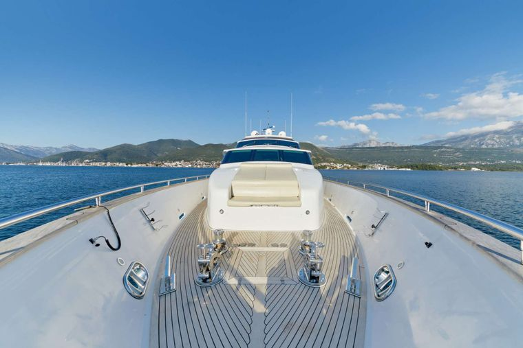 ANNABEL II Yacht Charter - Foredeck