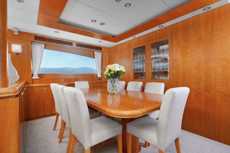 ANNABEL II Yacht Charter - Dining