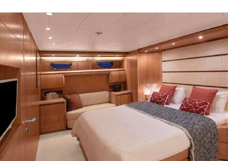 IRENE'S Yacht Charter - Master Stateroom Another view