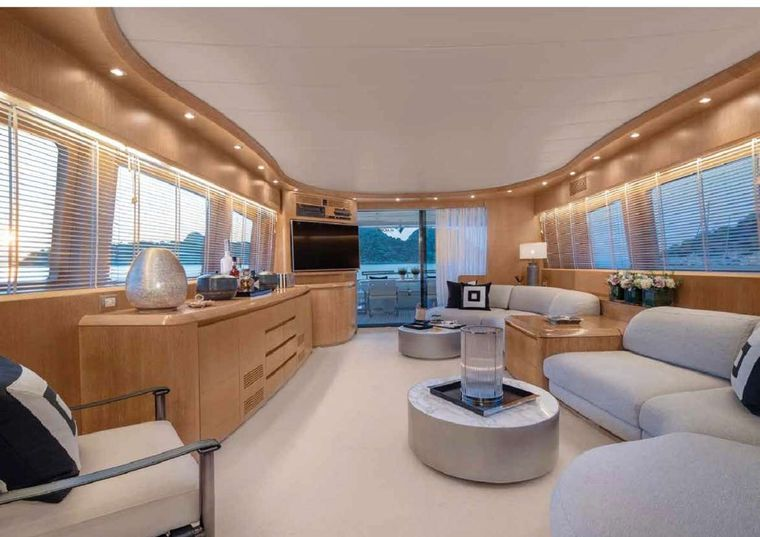 IRENE'S Yacht Charter - Salon another view
