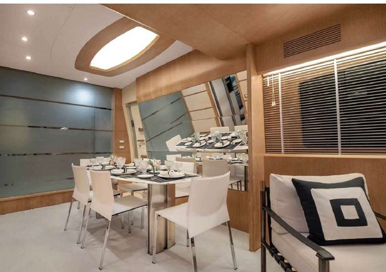 IRENE'S Yacht Charter - Dining